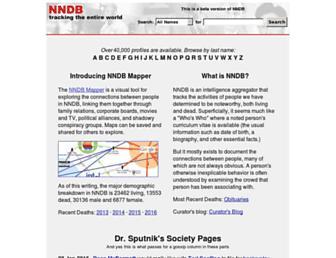 nndb.com screenshot