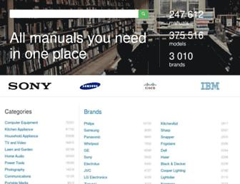 manualsdump.com screenshot