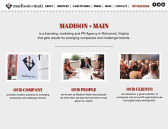 madisonmain.com screenshot