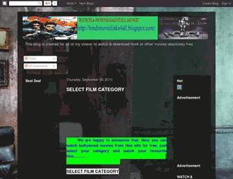 hindimovielinks4all.blogspot.com screenshot