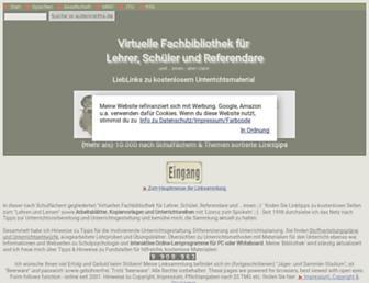 Main page screenshot of autenrieths.de