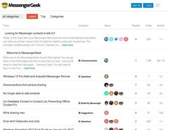 wink.messengergeek.com screenshot