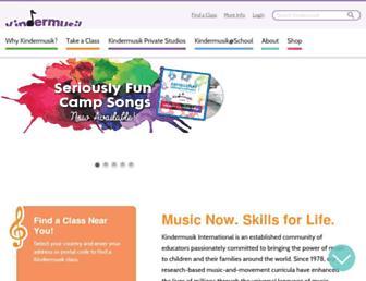 Thumbshot of Kindermusik.com