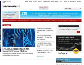 telecomasia.net screenshot