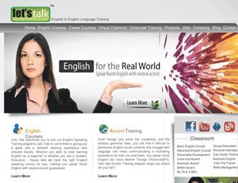 letstalkpodcast.com screenshot