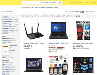 informatica.mercadolivre.com.br screenshot
