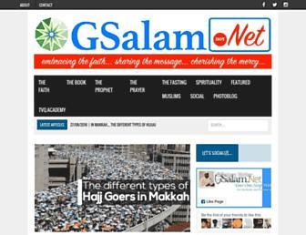 gsalam.net screenshot