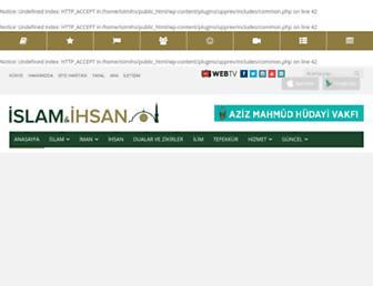 islamveihsan.com screenshot