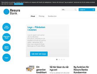 Thumbshot of Resurs.se