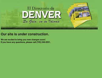 directoriodenver.com screenshot