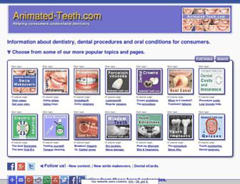 Thumbshot of Animated-teeth.com