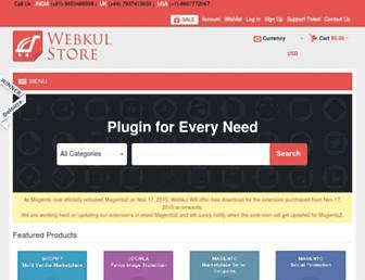 store.webkul.com screenshot