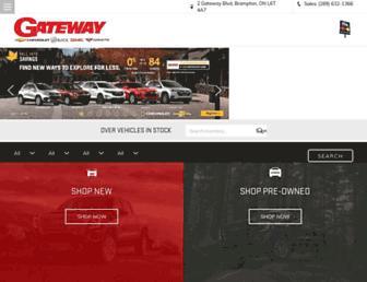 gatewaychevrolet.ca screenshot