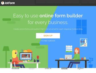 jotform.com screenshot