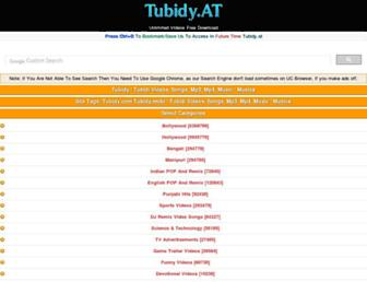 tubidy.at screenshot