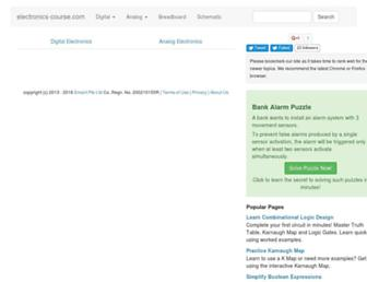 electronics-course.com screenshot