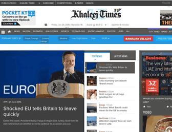 Thumbshot of Khaleejtimes.com