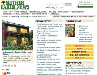 Thumbshot of Motherearthnews.com