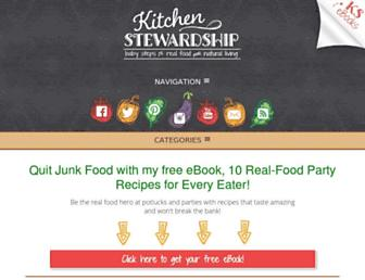 Thumbshot of Kitchenstewardship.com