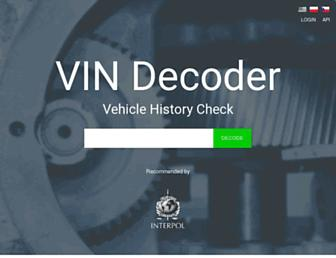 Thumbshot of Vindecoder.eu