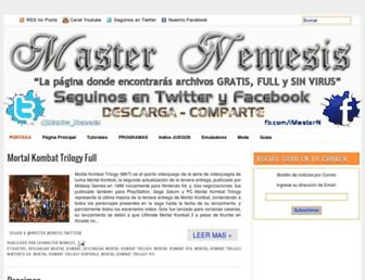 master-nemesis.blogspot.com screenshot