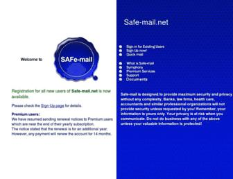 Thumbshot of Safe-mail.net