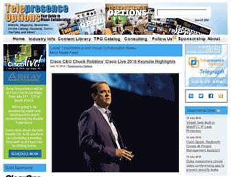 telepresenceoptions.com screenshot