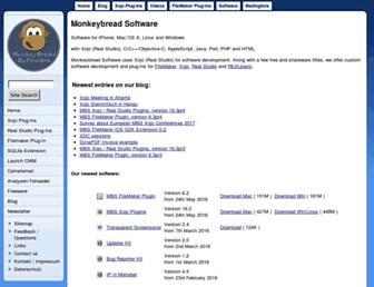 monkeybreadsoftware.de screenshot