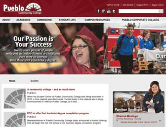 Thumbshot of Pueblocc.edu