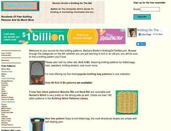 Thumbshot of Knittingonthenet.com