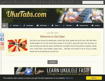 ukutabs.com screenshot