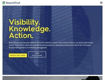 beyondtrust.com screenshot