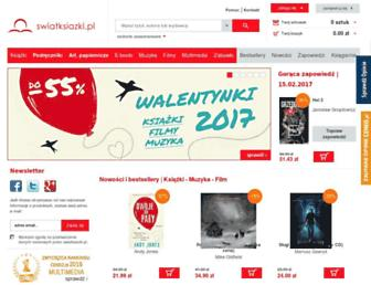 swiatksiazki.pl screenshot