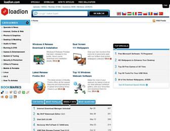 Main page screenshot of download.chip.eu