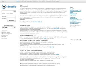 rs-studio.at screenshot