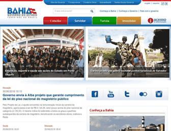 Thumbshot of Ba.gov.br