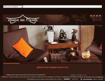 templodelmasaje.com screenshot