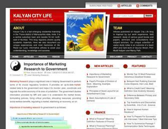 kalyan-city.blogspot.com screenshot
