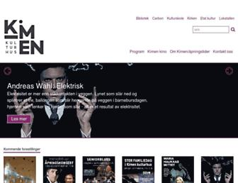 Main page screenshot of lokstallen.no