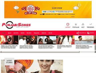punjabisongs.co.in screenshot