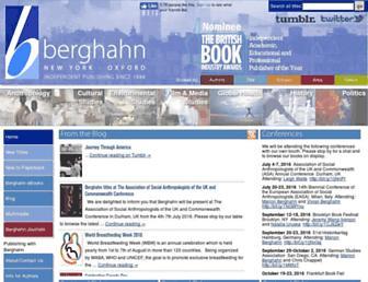 berghahnbooks.com screenshot