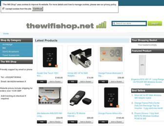 thewifishop.net screenshot