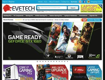 Thumbshot of Evetech.co.za