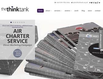 thinktank.org.uk screenshot