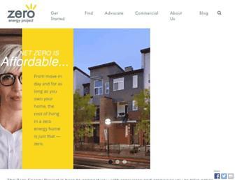 zeroenergyproject.org screenshot