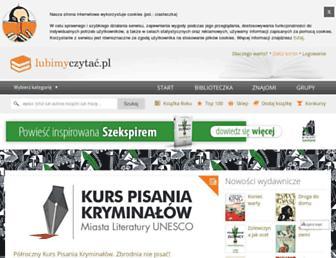 lubimyczytac.pl screenshot