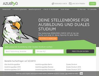 azubiyo.de screenshot