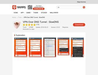 vpn-over-dns-tunnel-slowdns.en.9apps.com screenshot