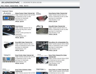 sudosonic.com screenshot