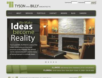 tysonandbilly.com screenshot
